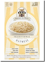 Bakery on Main Instant Gluten Free Oats