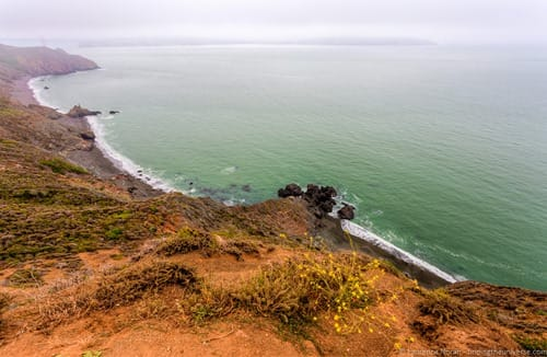 Shooting San Francisco from Bonita Cove and Marin Headlands with VEO