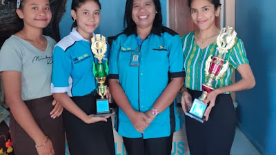 SMKS Katolik Kefamenanu Meraih Juara III  Lomba Duta Genre Kabupaten TTU
