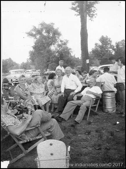 Niehaus Reunion, About 1955, Probably at Longacre Park in Indianapolis.