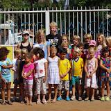 Besök i SOS-barnby i Laulane, Maputo