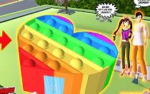 POP IT Love House Di Sakura School Simulator