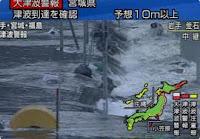 terremoto tsunami japon Terremoto de 8,9 en Japón causa gran tsunami