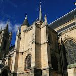 Collégiale Saint-Martin : façade sud