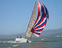 J/35c Brainwaves sailng Pacific Cup
