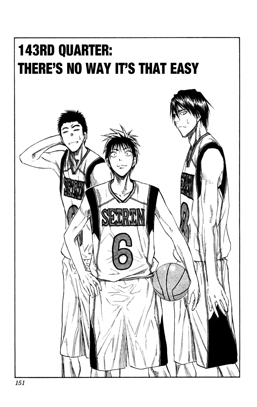 Kuroko no Basket Manga Chapter 143 - Image 01