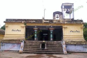 Thiru Aakkoor – Inside Temple Front View