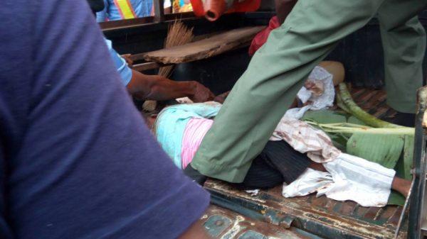 Nursing Mother Crushed To Death, Others Injured By Truck Along Sagamu-Abeokuta Expressway (Photos)