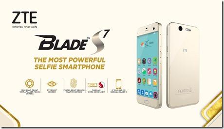 Harga Spesifikasi ZTE Blade S7