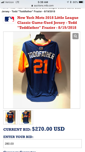 info for e37af 8f64f TheMediagoon.com: MLB Player's Choice Weekend Jerseys: Mets ...
