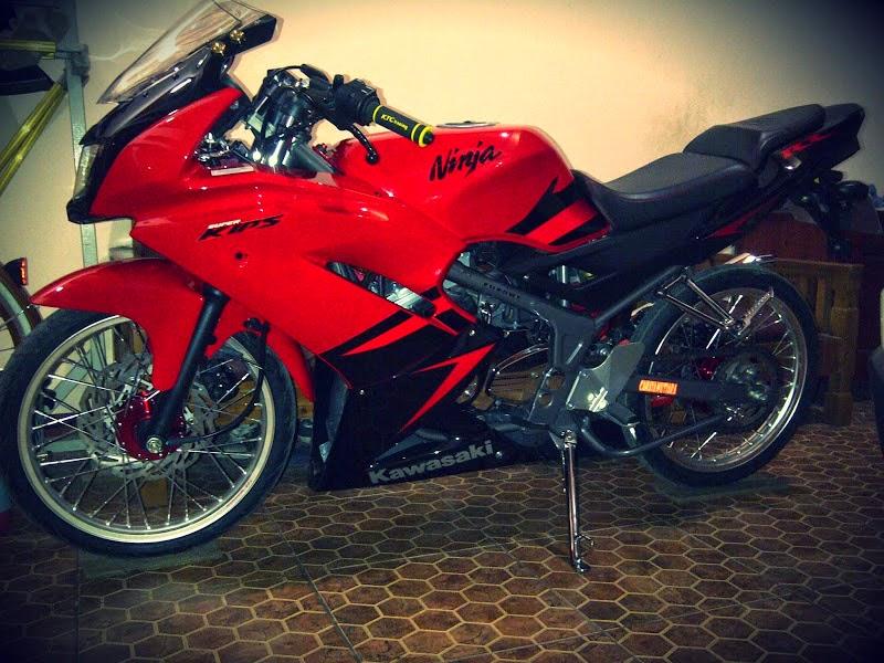 Ninja 150 Rr Modifikasi Velg Jari Jari