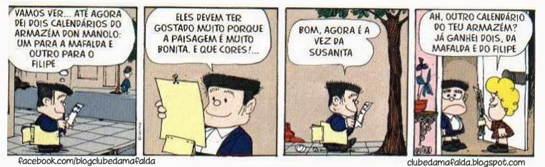 Clube da Mafalda: Tirinha 603