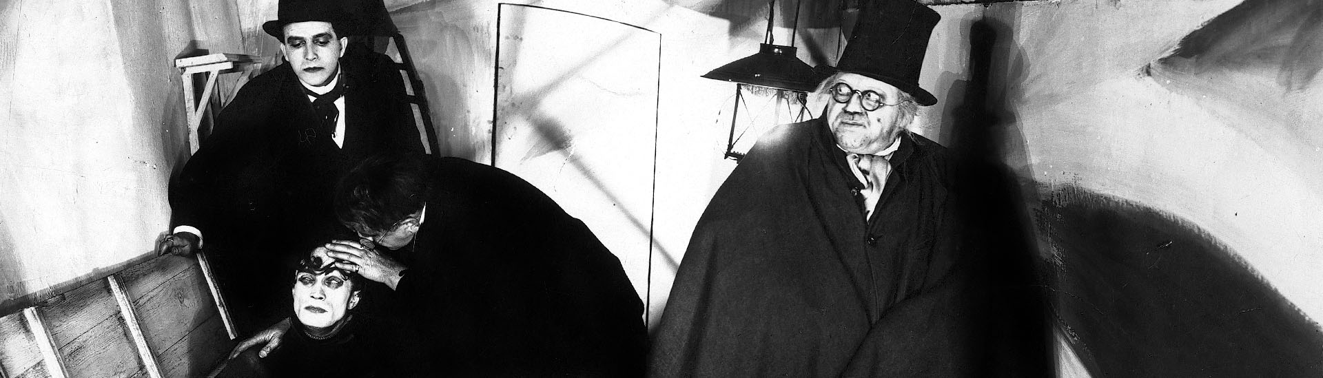 Baner filmu 'Gabinet Doktora Caligari'