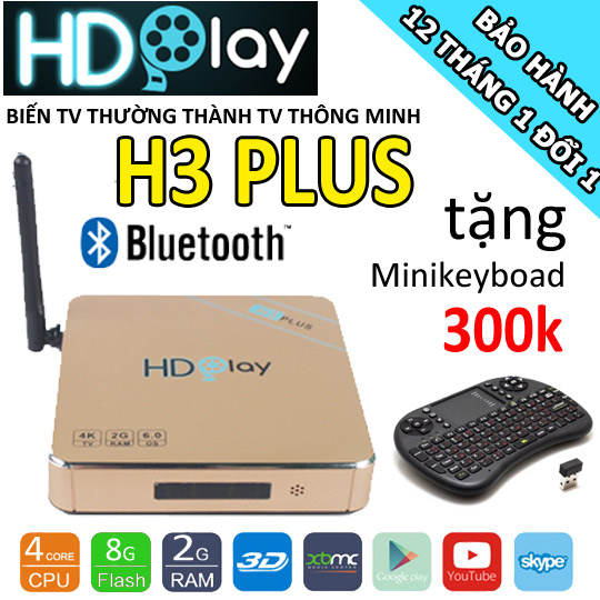 android tv box hdplay h3plus