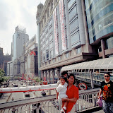 12. Pedestrian Bridge over East Nanjing Road. Shanghai