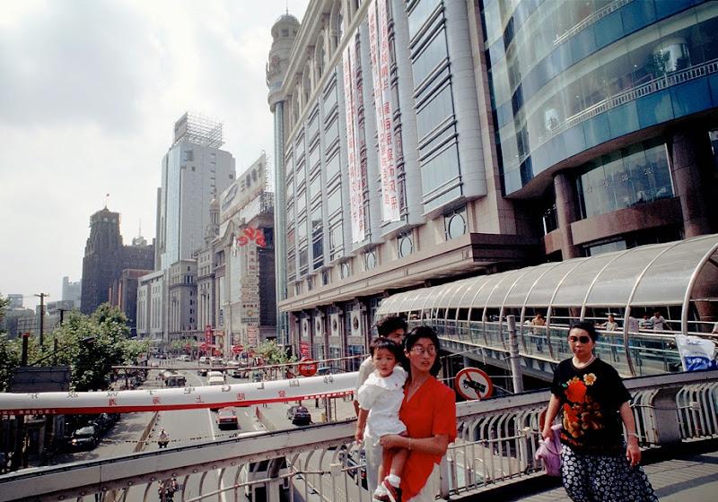 12. Pedestrian Bridge over East Nanjing Road. Shanghai