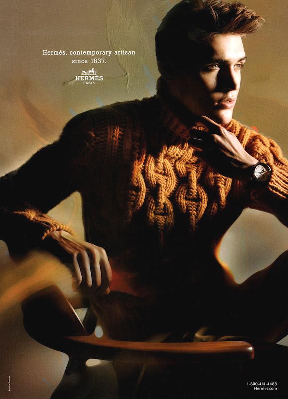 Isaac Carew by Nick Knight   Hermès F/W 2011