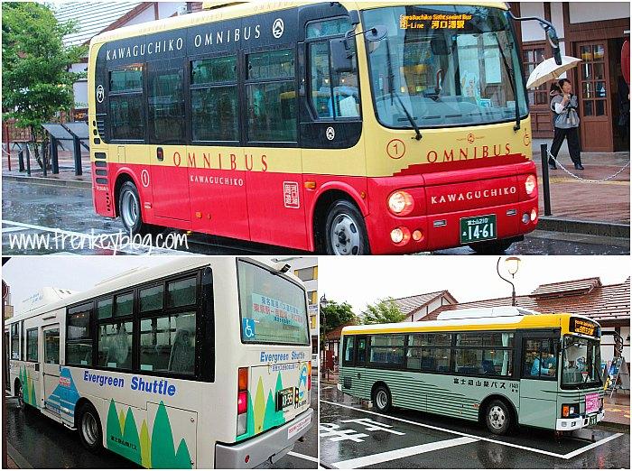Kawaguchiko Saiko Bus