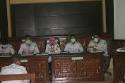 Pengadilan Negeri Bener Meriah Lakukan Sosialisasi Pembangunan Zona Integritas dan Pembagian Masker