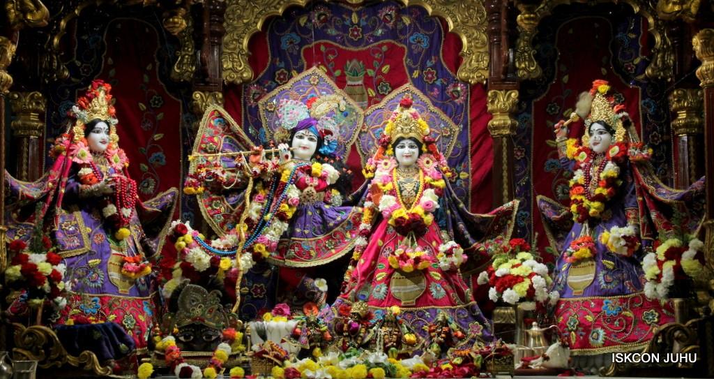 ISKCON Juhu Sringar Deity Darshan 20 Jan 2017 (1)