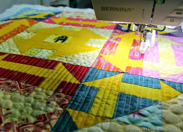 free moition quilting