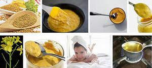 Как наносить горчичную маску
