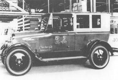 Checker 1926 Model F