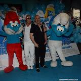 WWW.ENTSIMAGES.COM -    Richard  and Fred Fairbrass at       The Smurfs 2 - gala film screening at Vue West End (Leicester Square), London, July 28th 2013                                                  Photo Mobis Photos/OIC 0203 174 1069
