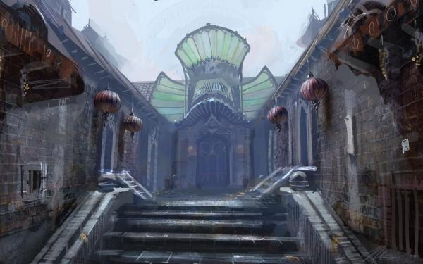 Mysterious Place From Dream, Magick Lands 1