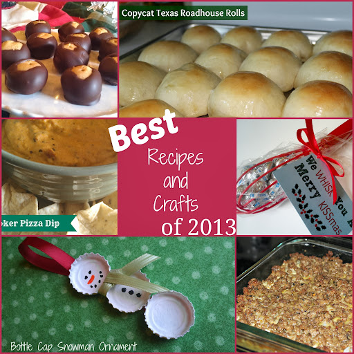 Top 5 Recipes,  Top 5 Crafts, and Top 5 Party/Gift Idea Posts of 2013 - Views From the 'Ville - viewsfromtheville.com