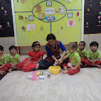 Lemanode making activity by Nursery Section(2016-17) at witty world bangur nagar