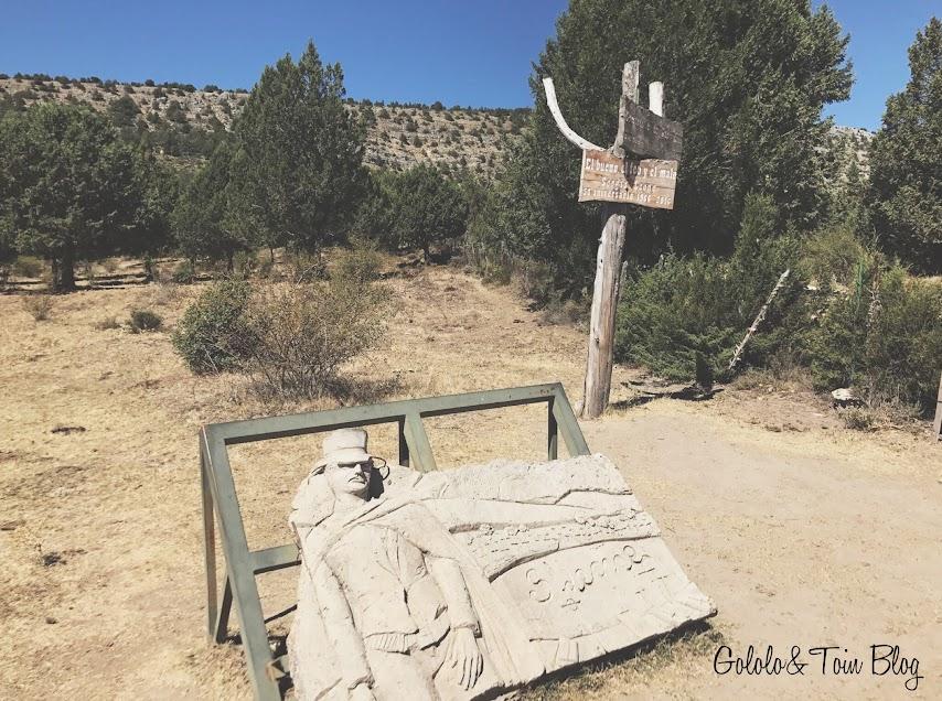 Inauguración cementerio  Sad Hill en Burgos