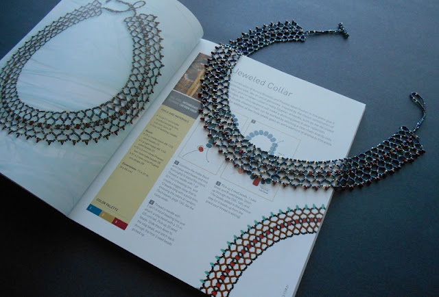Egyptian Jeweled Collar Project