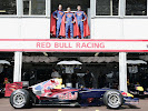 Red Bull superman, Robert Doornbos, Christian Klien & David Coulthard