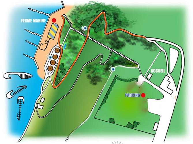 Aquacaux plan