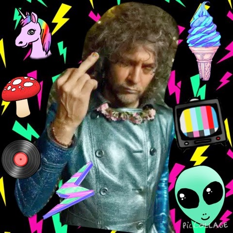 Wayne Coyne and his friends