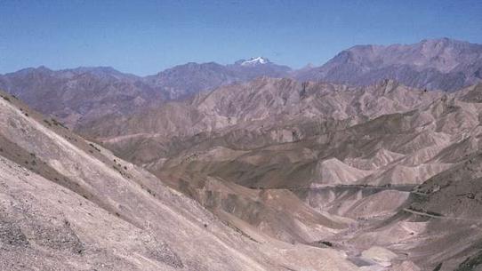 India: Ladakh mountain range