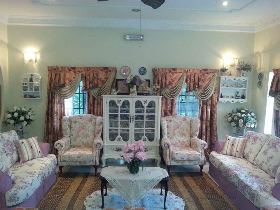 Ruang Tamu Terkini Love English Deco