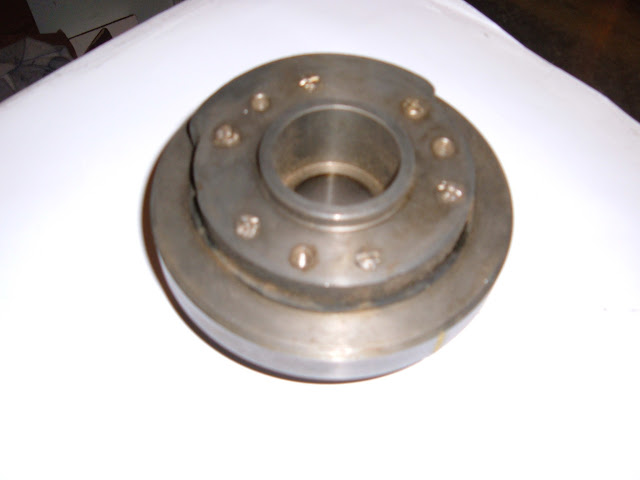 1954-56 322 dampner, The 1953 is one year only and 264 uses a cast iron pulley.. Call