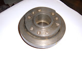 1954-56 322 damper, The 1953 is one year only and 264 uses a cast iron pulley.. Call
