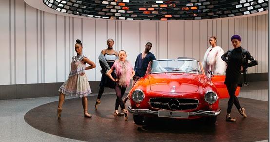 Mercedes-Benz presenta l'episodio numero 6 di Fashion Creatives con la partecipazione delle ballerine di Hiplet™