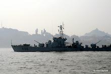 Xiamen : vedettes militaires