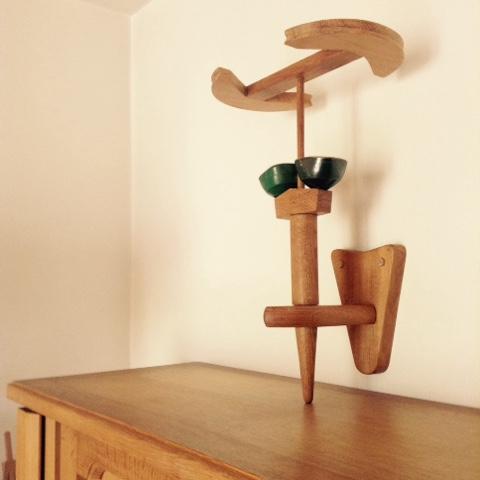 les meubles votre maison des designers guillerme et chambron applique murale flambeau restaur e. Black Bedroom Furniture Sets. Home Design Ideas