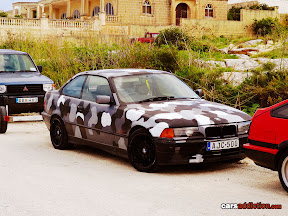 Camouflage BMW E36