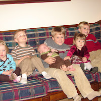 Cousins! (our kids and Jon's brother Matt's kids)