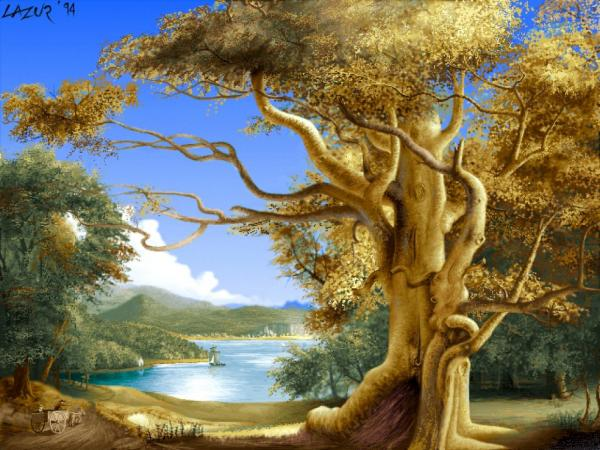 Old Tree Of Life, Magical Landscapes 2