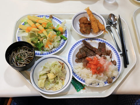 商船三井フェリー「さんふらわあ ふらの」 Aデッキ レストラン 夕食