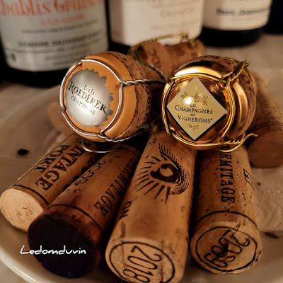 Nice Line up too.. corks of the night (2) by ©LeDomduVin 2021