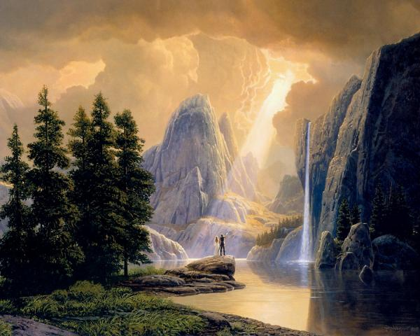 Waterfal Of Light, Magical Landscapes 2