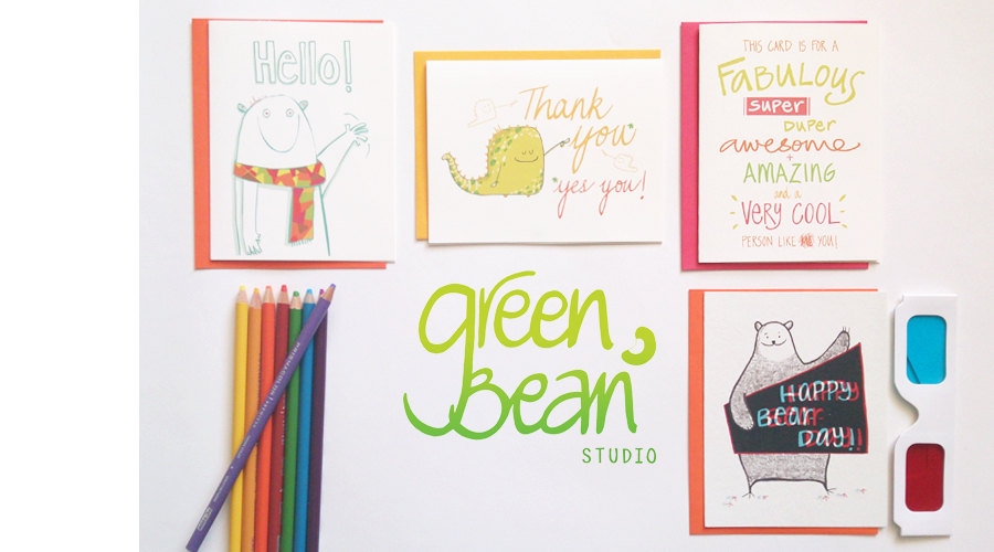 Green Bean Studio - Cool cards that make you smile! - Toronto